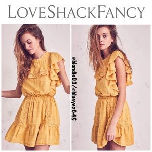 LoveShackFancy Whitney Dress S